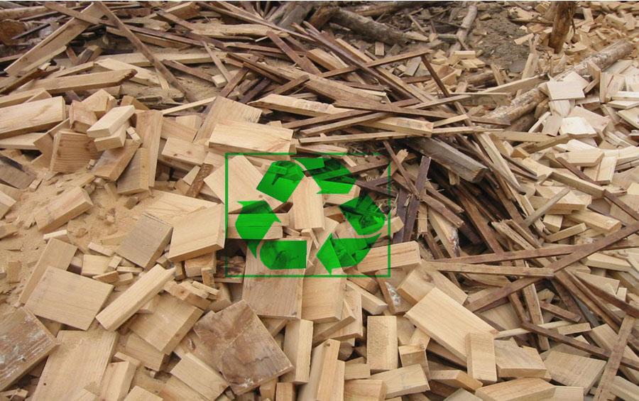 خطوط تدوير المخلفات الخشبية والأشجار